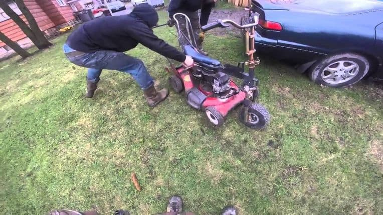 Make your own lawnmower